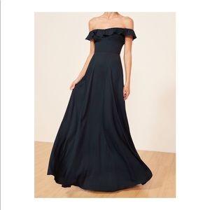 ... Reformation Navy verbena Dress 👗